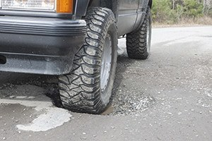 Pothole Accidents