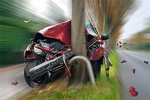 Speeding Car Accident
